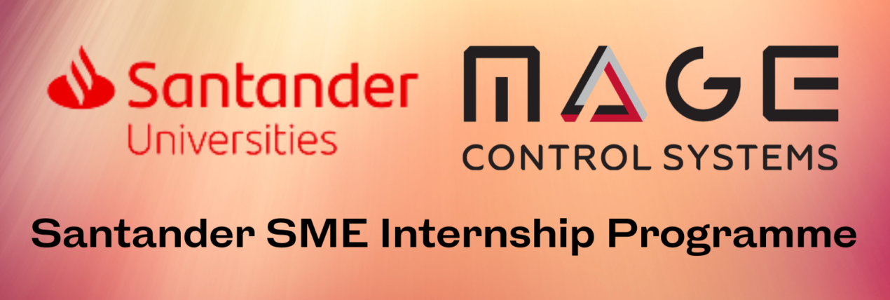 Santander Universities working with Mage Control Systems Ltd